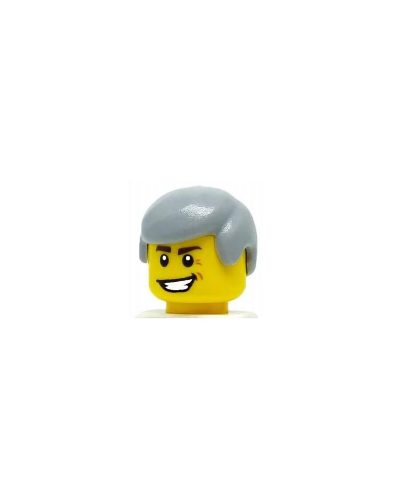 LEGO® Haar man Grijs voor minifiguren 3901