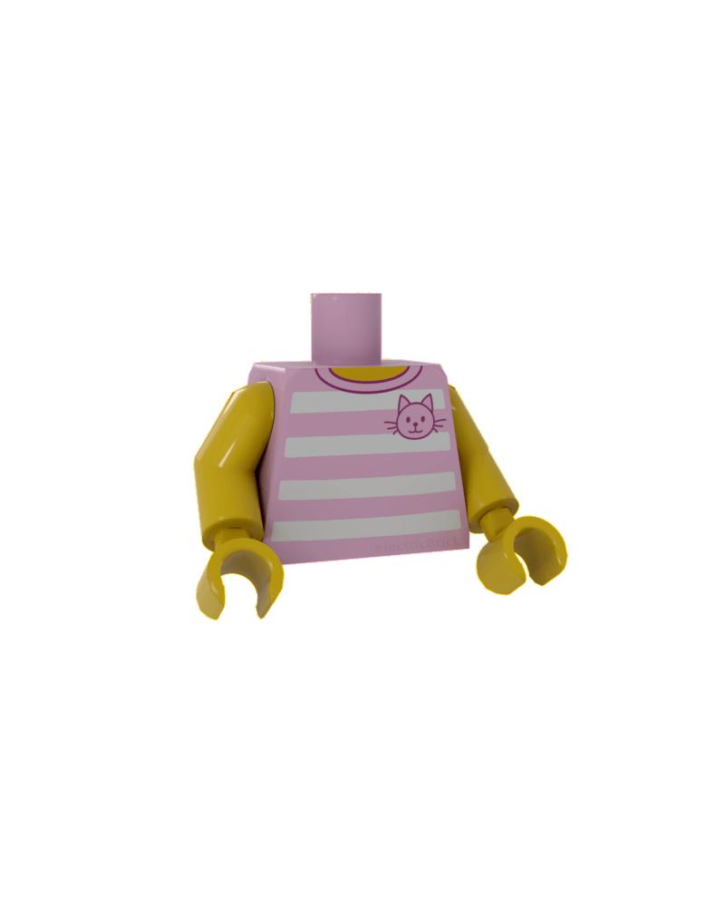 LEGO® Roze Torso voor meisje 973pb2339c01