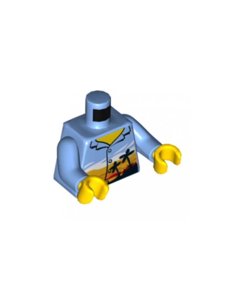 LEGO® Hawai Torso zonsondergang palmbomen 973pb3168c01