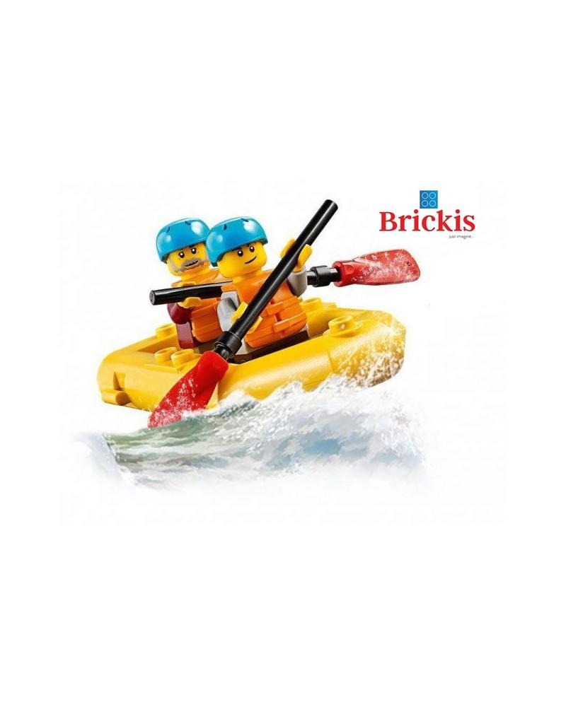 LEGO® Wildwater Rafting op de rivier + minifiguren + boot