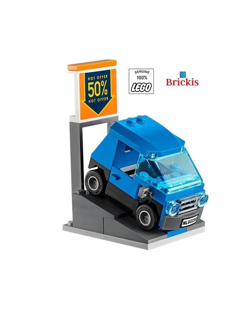 LEGO® City Smart auto- en voertuigverkoop opritstandaard
