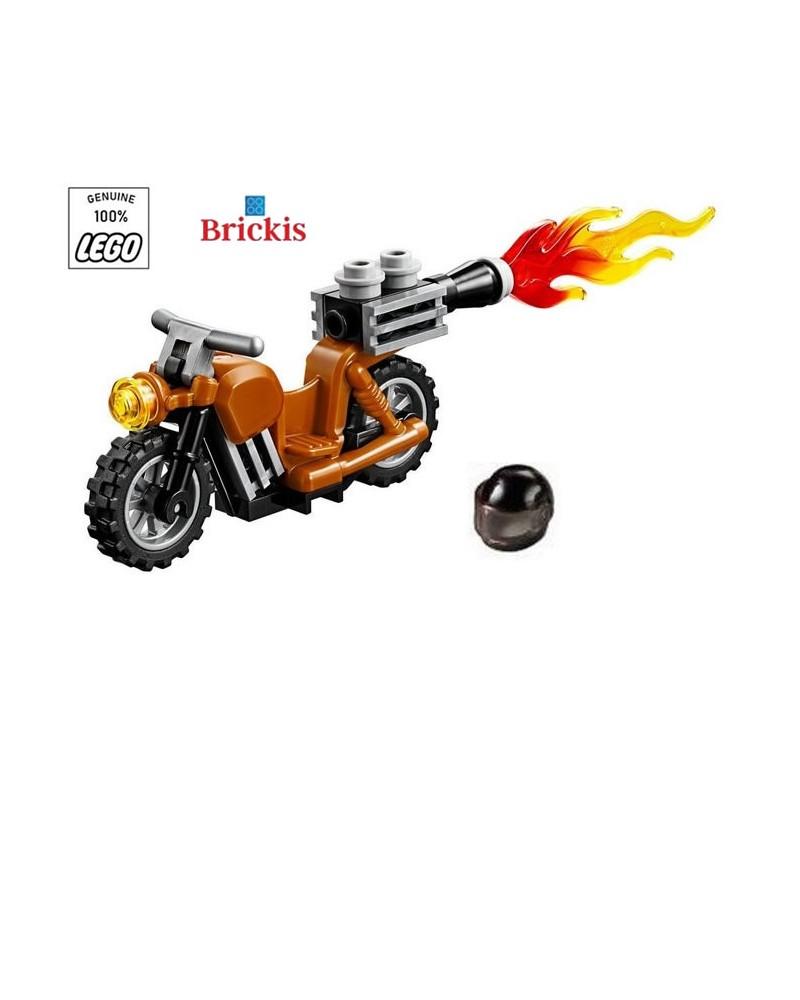 LEGO® Rocket Bike Motor + Helm Minifiguur