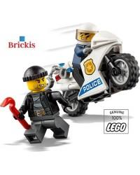 LEGO® Politiemotor Motorfiets Politie Dief + minifiguren