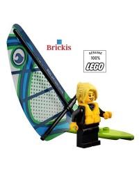 LEGO® Plezier op het Strand Meisje Minifiguur Surfer Watersport