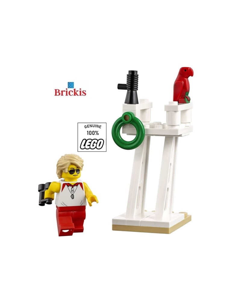 LEGO® Redder op het Strand Meisje Minifiguur + Baywatch Toren