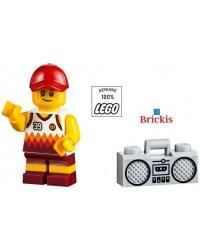 LEGO® City Strand Minifiguur kind met radio