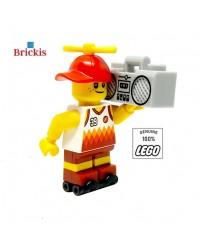 LEGO® City Strand Minifiguur kind met radio en rolschaatsen