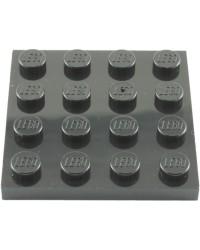 LEGO® Plaat 4x4 Zwart 3031
