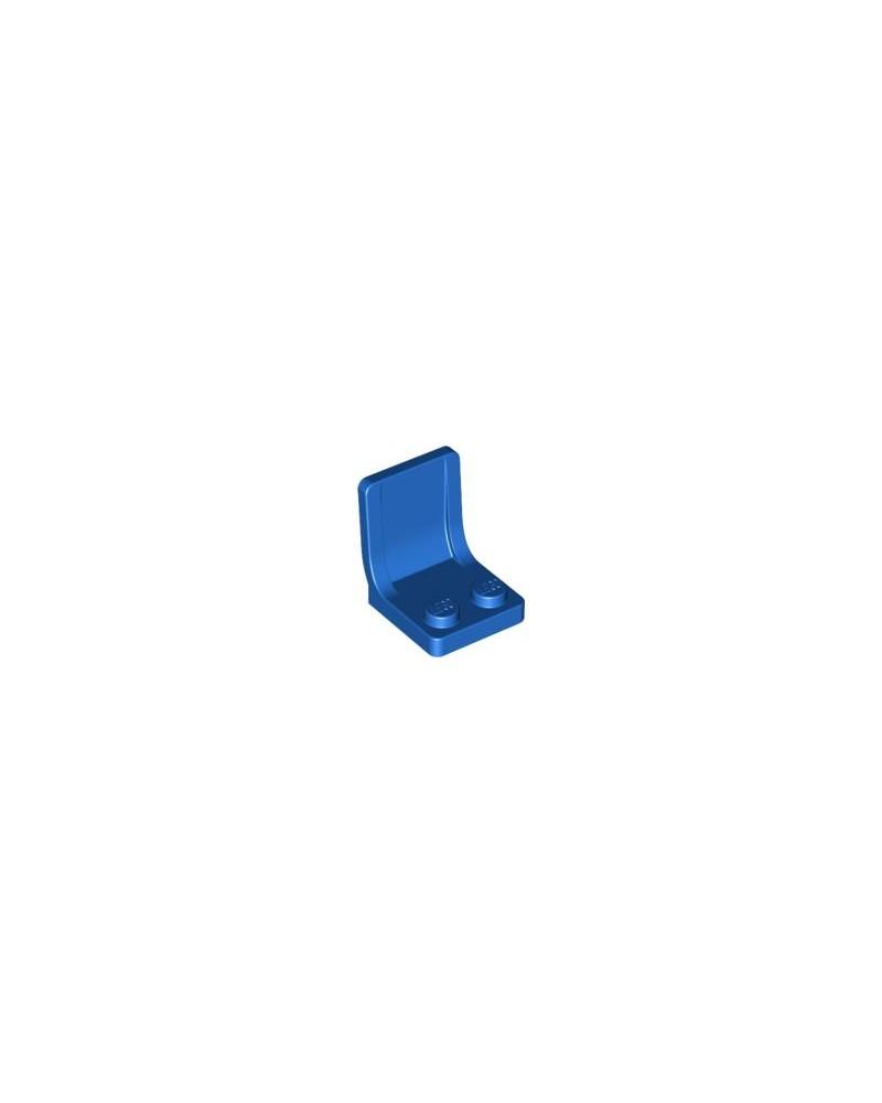 LEGO® Blauwe Stoel 2x2 met Sprue Markering in het midden 4079b