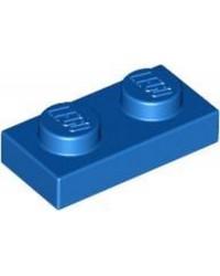LEGO® Plaat 1x2 Blauw 3023