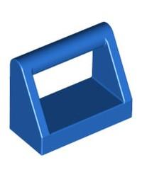 LEGO® Blauwe Tegel Aangepast 1x2 met Staafhendel 2432