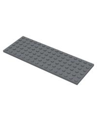 LEGO® Plaat 6x16 Donker blauwgrijs 3027