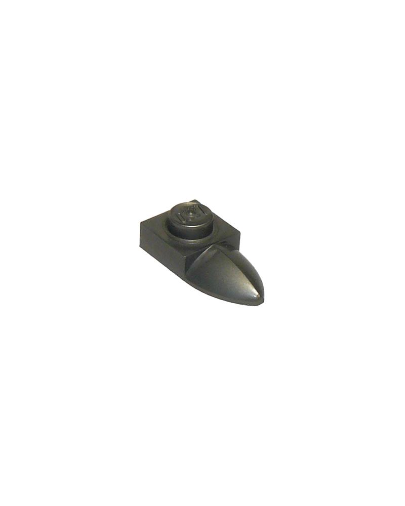 LEGO® Plaat gemodificeerd 1x1 met tand horizontaal 49668