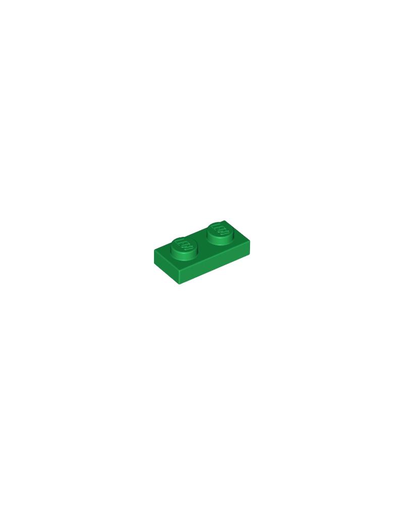 LEGO® Plaat 1x2 Groen 3023