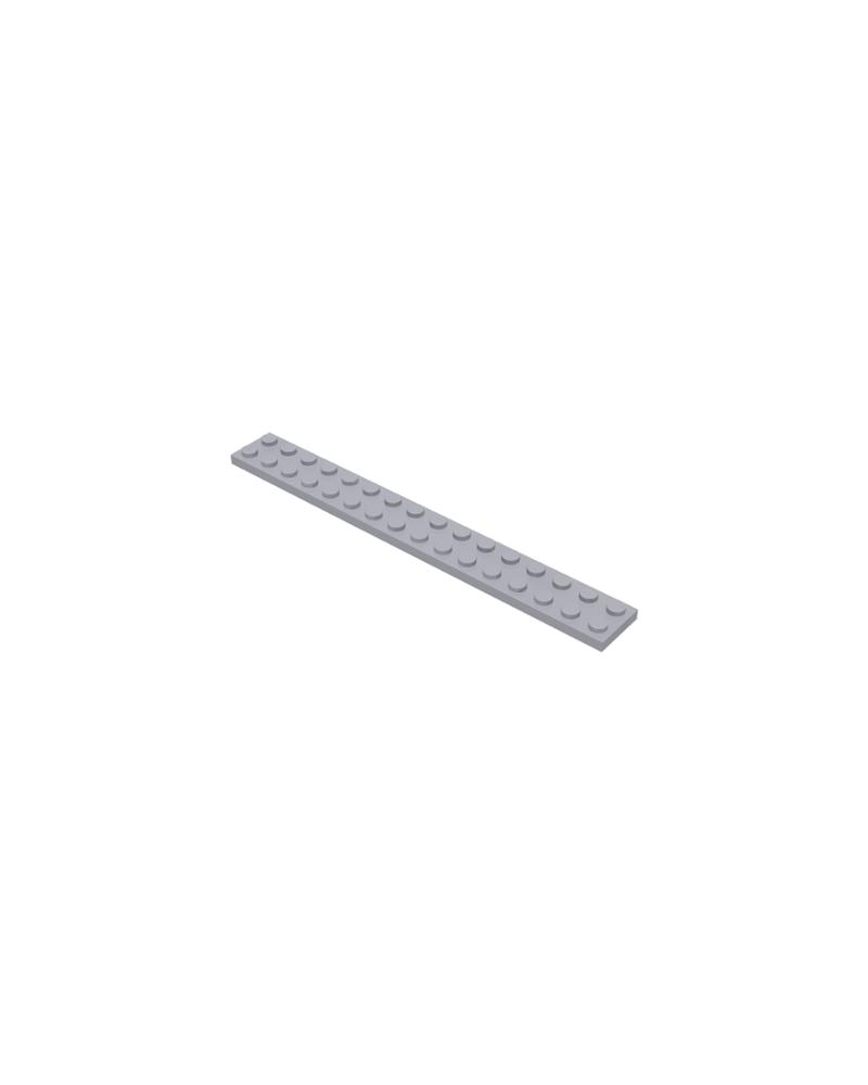 LEGO® Plaat 2x16 Licht blauwgrijs 4282