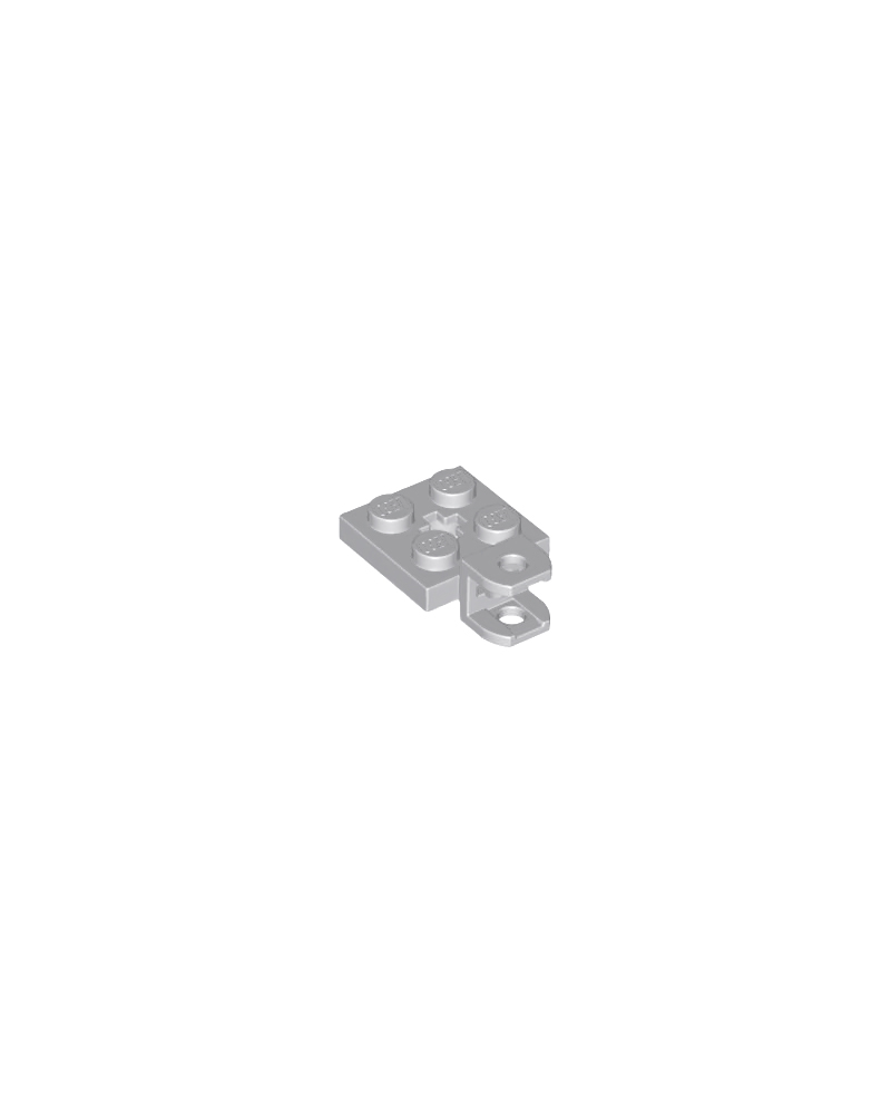 LEGO® plaat, gemodificeerd 2x2 met trekhaakkogelaansluiting 42478