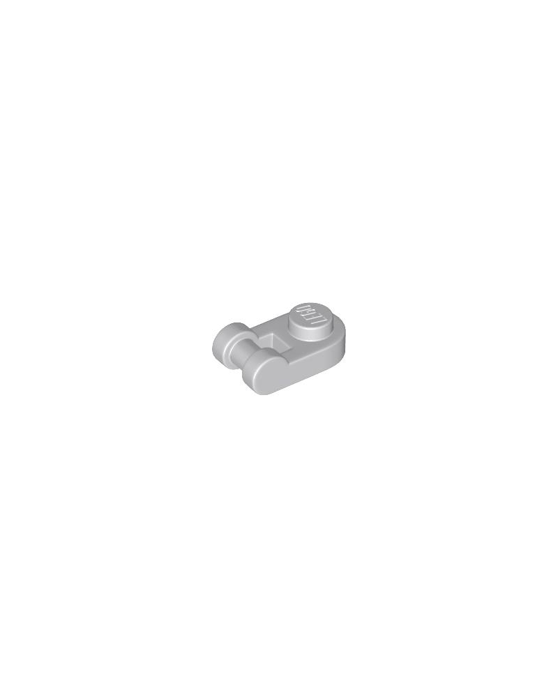 LEGO® plaat, Rond 1x1 met staafhandvat aan zijkant 26047