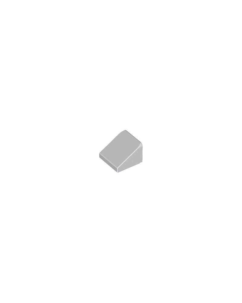 LEGO® Dakpan 30 1x1x 2/3 Licht Blauw Grijs 54200