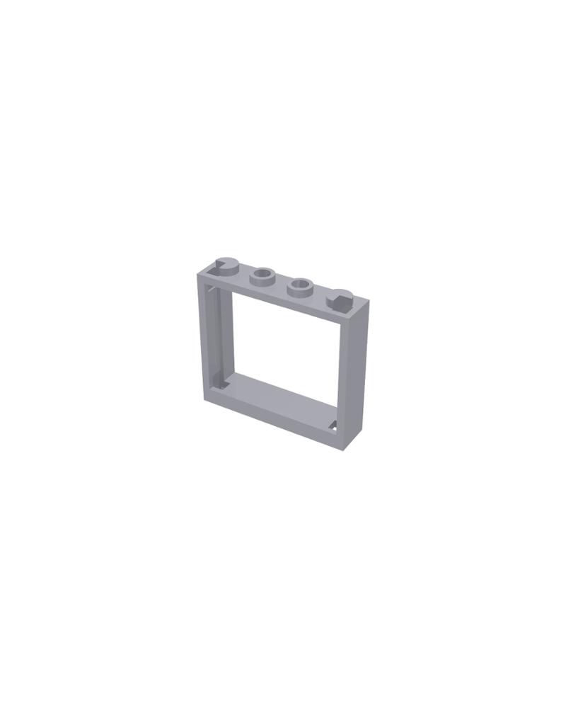 LEGO® Raam 1x4x3 - Geen luiken 60594