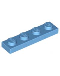 LEGO® Plaat 1x4 Medium blauw 3710