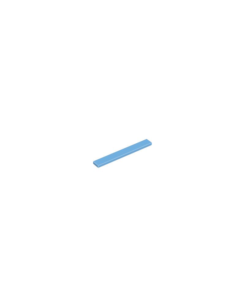 LEGO® Tegel 1x8 4162 Medium Blauw