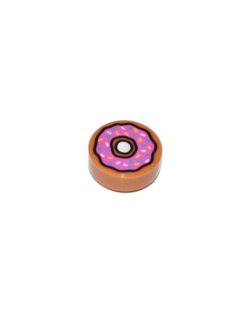 LEGO® Tegel rond 1x1 Donut 98138pb021