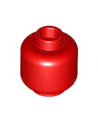 LEGO® Minifiguur, Hoofd Rood 3626c