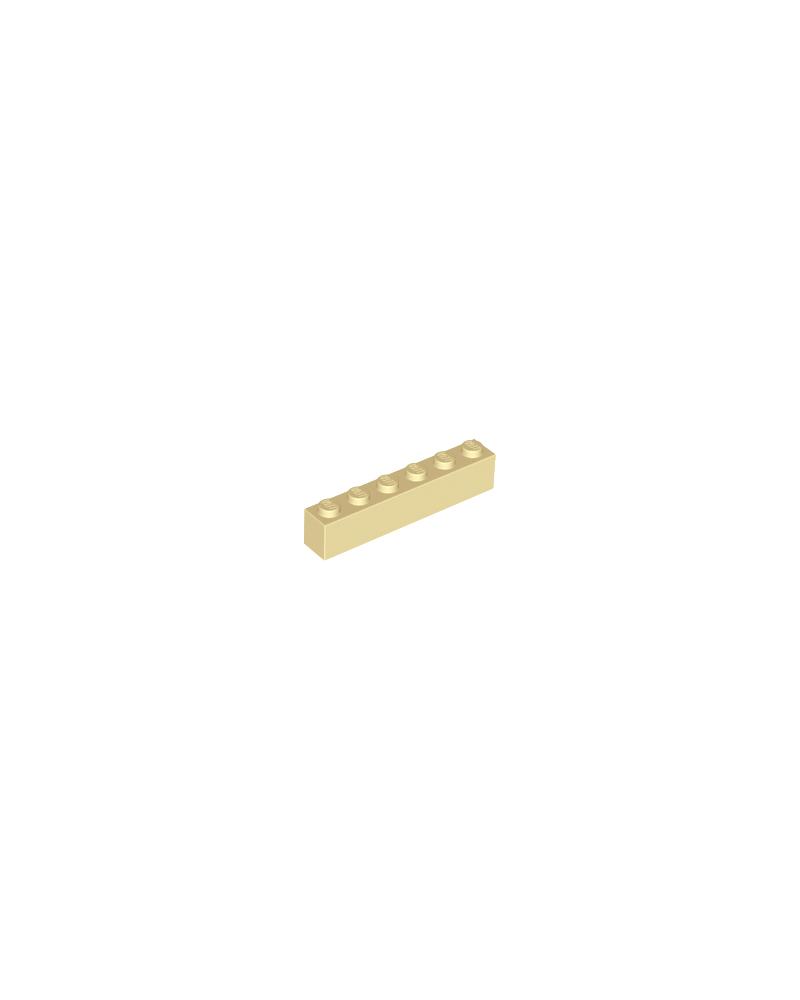 LEGO® Steen 1x6 Tan 3009