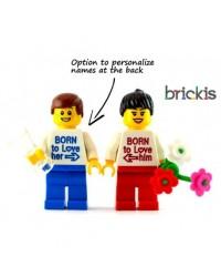 LEGO® Minifiguren Valentinstag