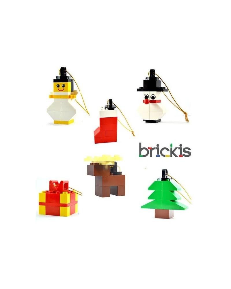LEGO® Kerstmis Kerstboom kerstbol voor de feesten of tafel decoratie