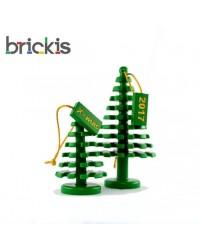2x LEGO ® sapins de Noël Xmas