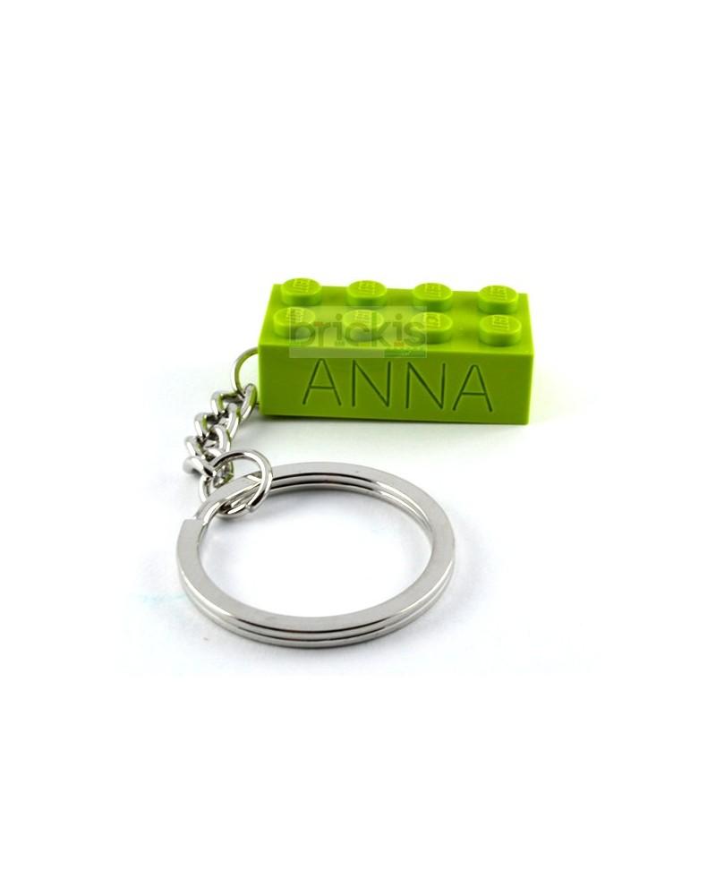 LEGO Schlüsselanhänger personalisiert mit namen