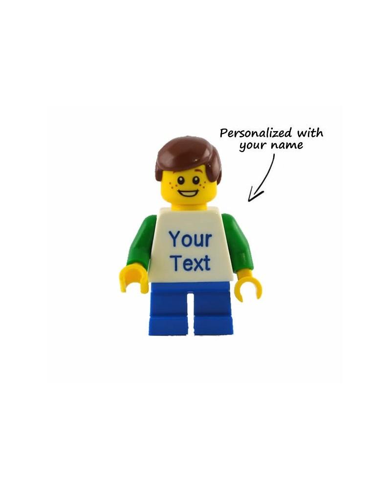Niño minifig LEGO® personalizado