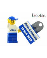 Gepersonaliseeerde LEGO® minifiguur, met naam voor de Eerste Communie