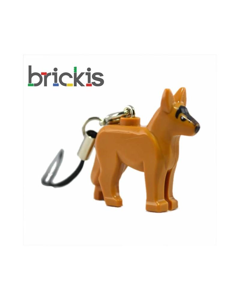 LEGO Schlüsselanhänger Deutscher Schäferhund