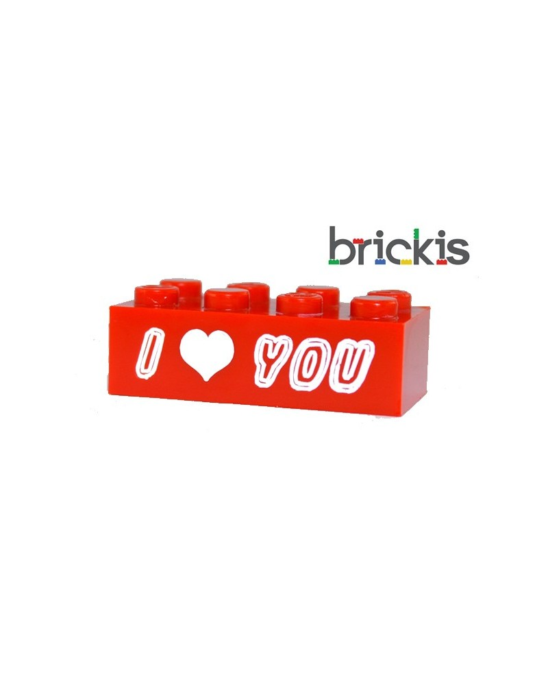 Ladrillo LEGO ® I Love You