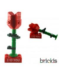 LEGO® Rose für Ehering Verlobungsring