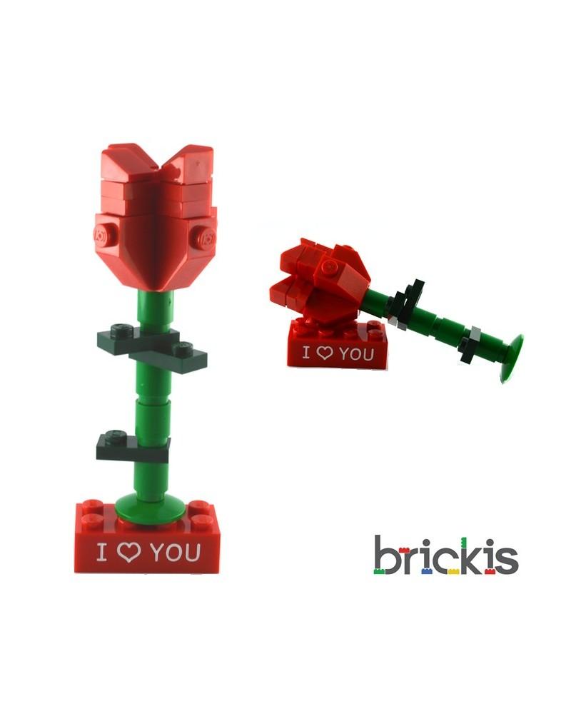 LEGO® rose pour bague de fiançailles