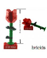 LEGO®, rosa para entregar el anillo de compromiso