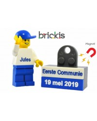 LEGO® First Communion minifigure & magnet brick