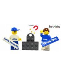 LEGO® Eerste Communie minifiguur & magneet blokje