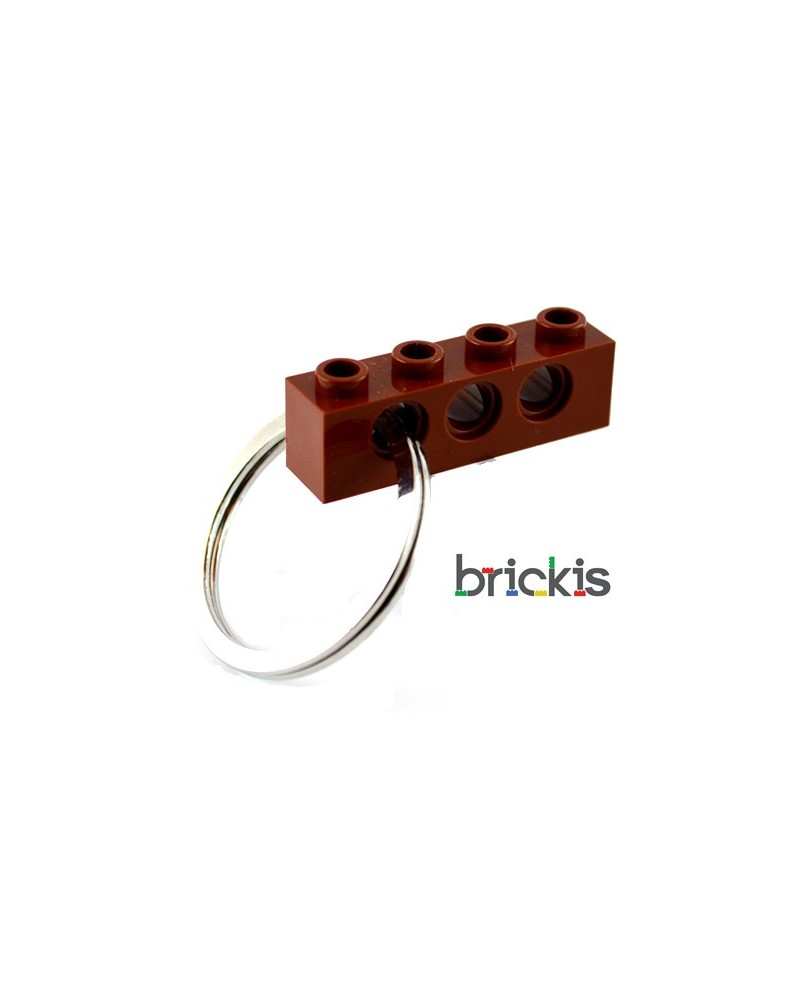 LEGO ® technic keychain brown