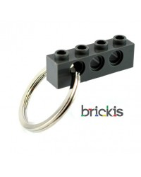 LEGO® technic porte clef gris