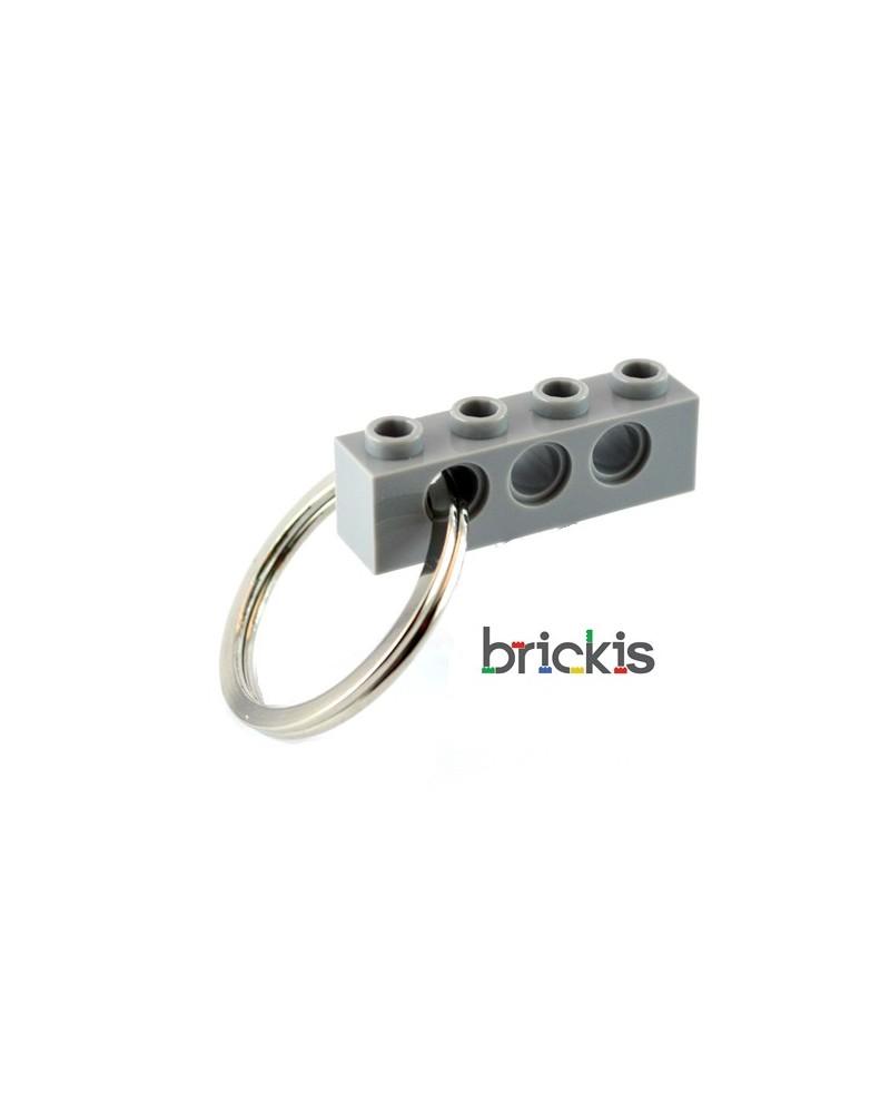 LEGO® technic sleutelhanger grijs