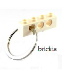 LEGO® technic Schlüsselanhänger weiss