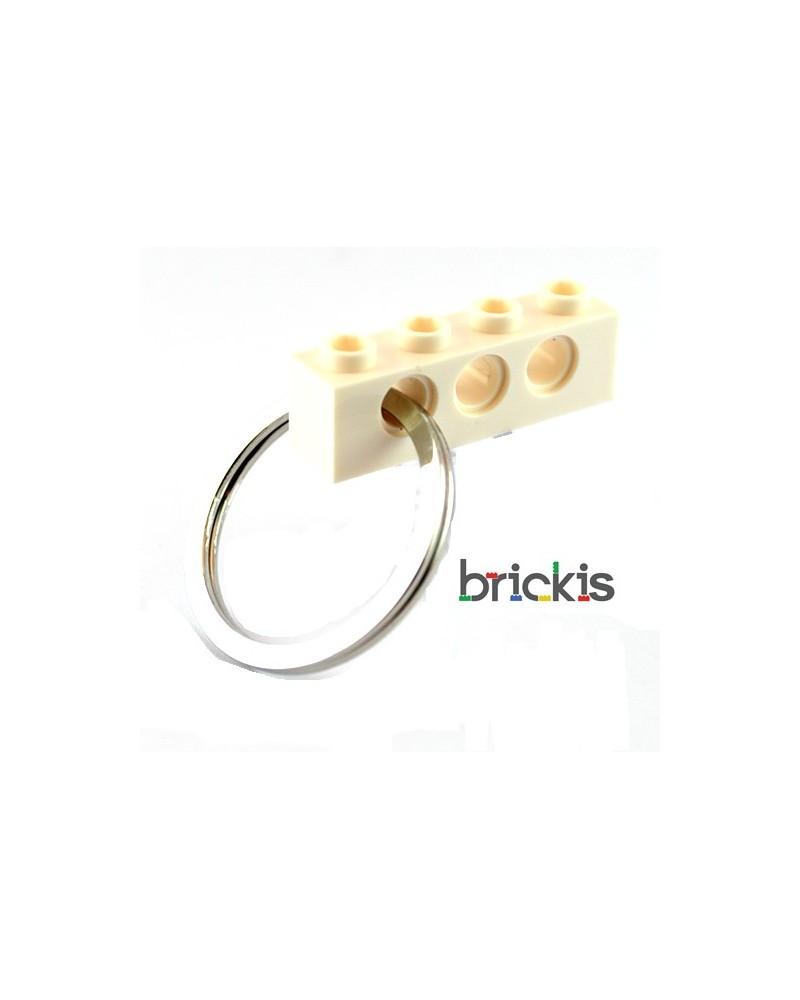 1 LEGO® technic sleutelhanger wit