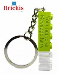 LEGO ® sleutelhanger met naam gepersonaliseerd