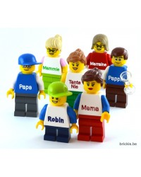 LEGO® Minifigure boy with name
