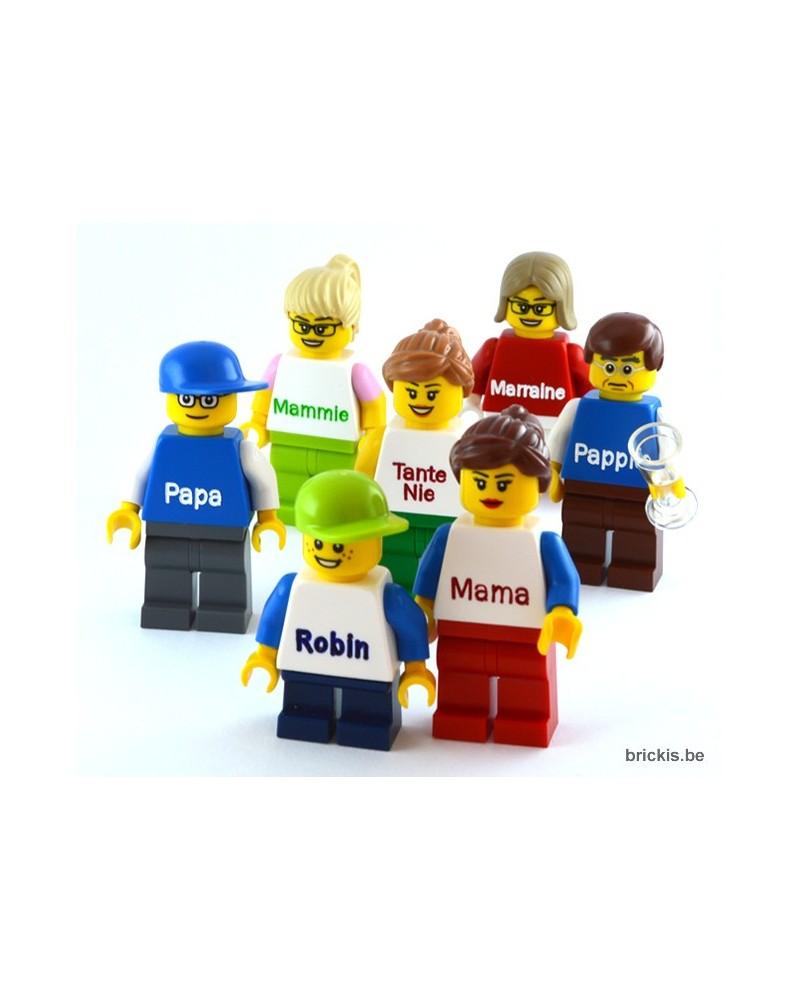 LEGO® Minifiguur jongen met naam