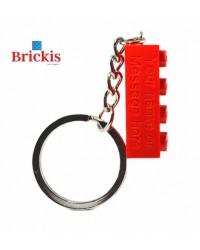 LEGO ® sleutelhanger gepersonaliseerd gegraveerd